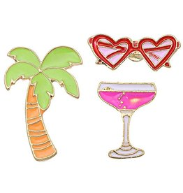 Fashion Jewelry Fashion Pins / Set van 3 / PINS014