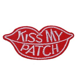 Fashion Jewelry Patche KISS MY PATCH PT170035