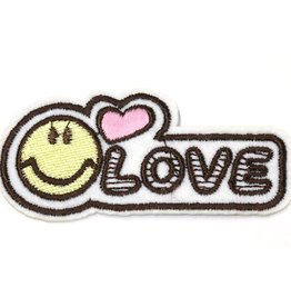 Fashion Jewelry Patche LOVE SMILEY / PT170166