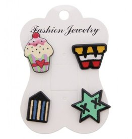 Fashion Jewelry Pins / Set van 4 / PINS005