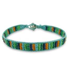 Colori Armbandje Mint Green Cord - Multicolor