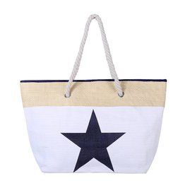 Strandtas Star White