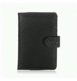 Yehwang Paspoort Case Croco Black