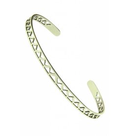 Armband Victory Stainless Steel  Zilver