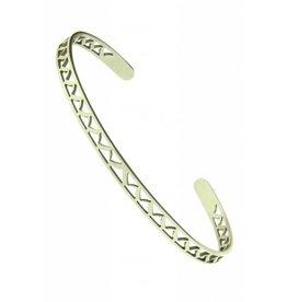 Fashion Jewelry RVS Armband Victory Zilver