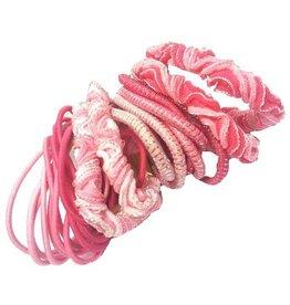 Fashion Jewelry Haar elastiek Set 22 stuks