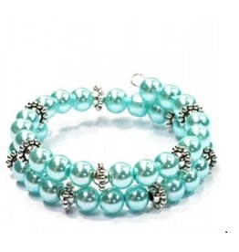Fashion Jewelry Wire Armband Soft Turquoise
