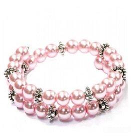 Fashion Jewelry Wire Armband Soft Pink