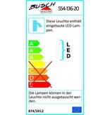 Busch Leuchten LED Wandleuchte mit Schalter 1 x 2,5 Watt