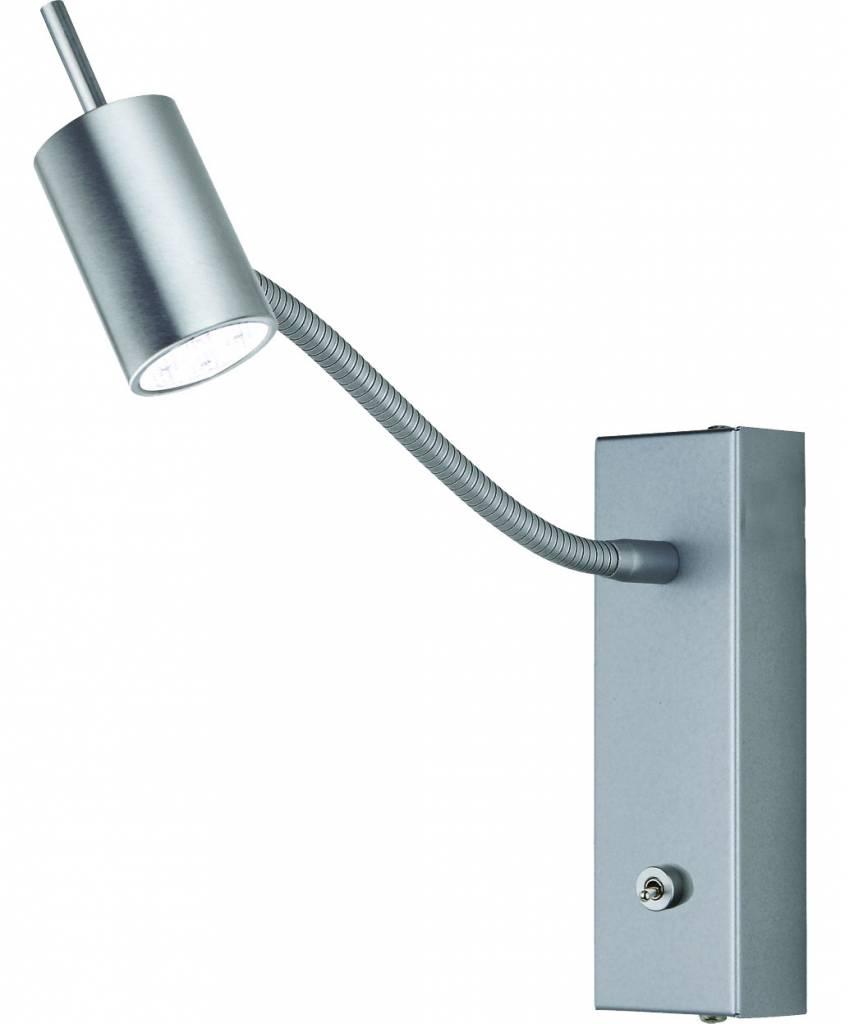 Busch Leuchten LED-Schlauch-Wandleuchte m. Schalter 5W