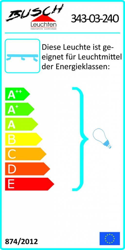 Busch Leuchten LED Leiste 3 fl. 4 W