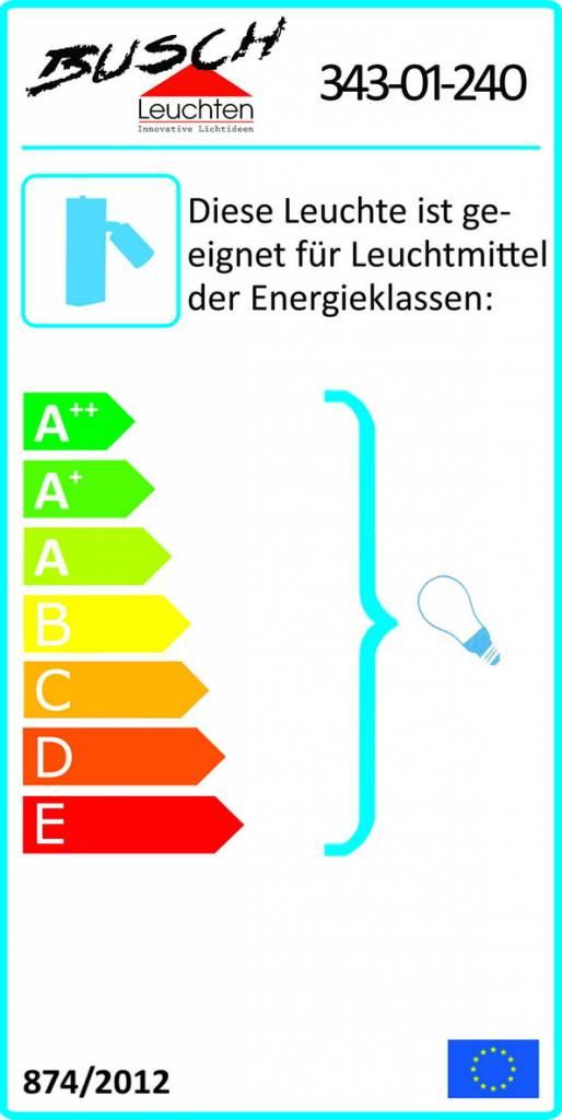 Busch Leuchten LED Wandleuchte m. Schalter 1 fl. 4 W