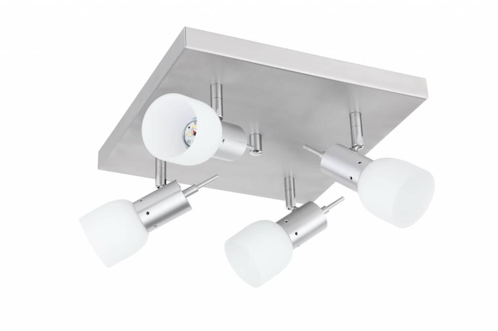 Busch Leuchten LED Quadroplatte 4 fl. 4 x 6,5 W
