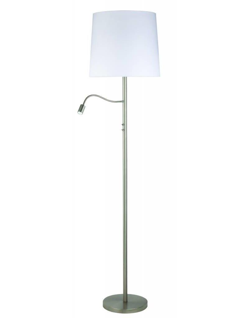 Busch Leuchten LED Stehleuchte m. Schalter 2 fl.