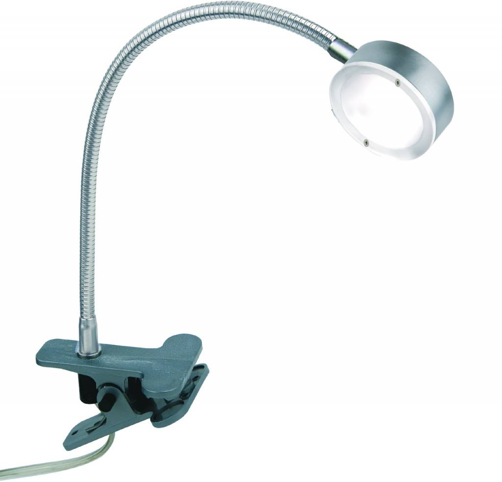 Busch Leuchten LED-Klammerleuchte m. Schalter 4,5 W