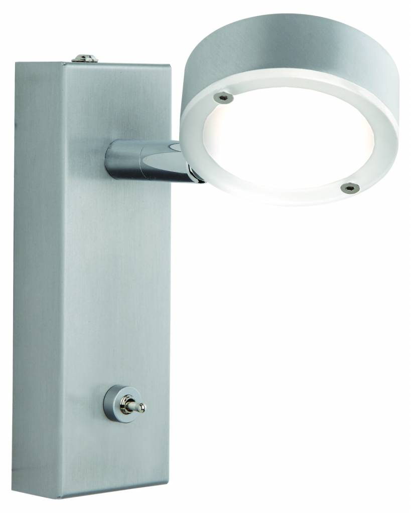 Busch Leuchten LED-Wandleuchte 4,5 W m. Schalter