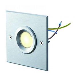 dot-spot object-light 230 V kaltweiss weiß lackiert quadratisch