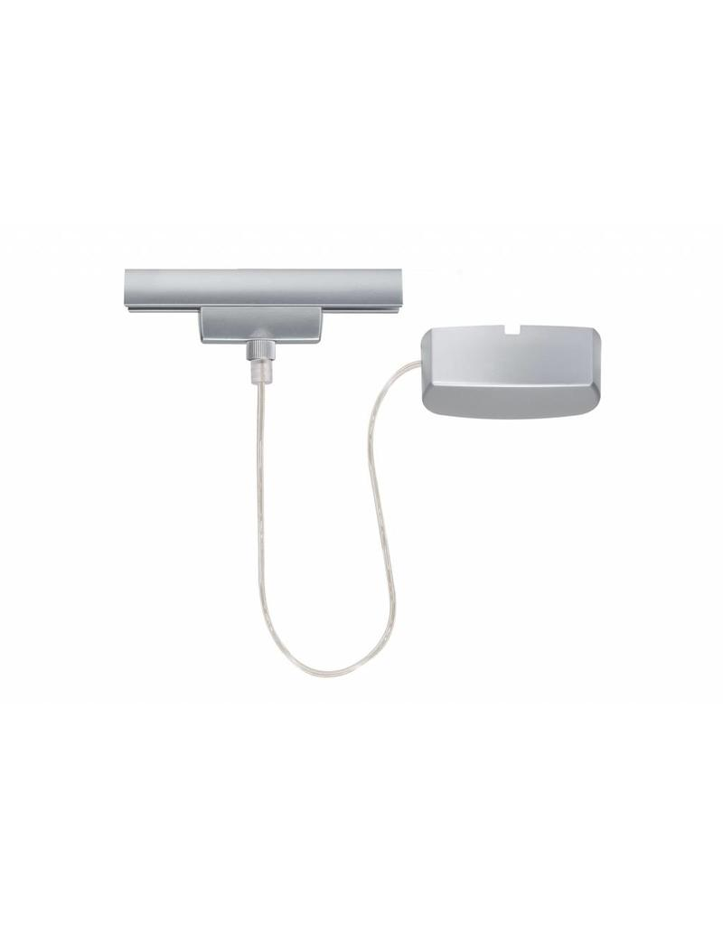paulmann urail system light easy stromeinspeisung chrom matt 230v metall. Black Bedroom Furniture Sets. Home Design Ideas