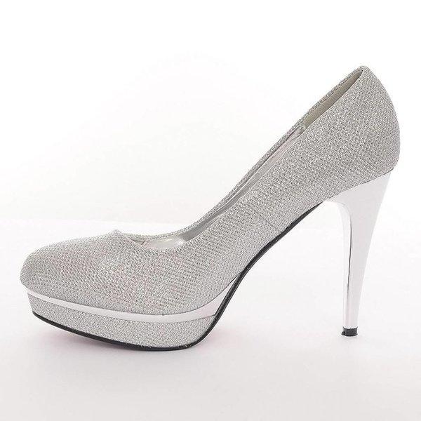 Chique pump zilver