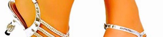 Bling-Bling Sandalen met Strass