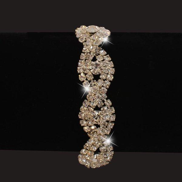 Strass armband (S208)