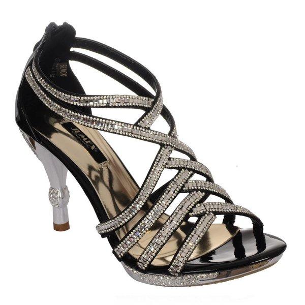 Glamour sandaal Zwart