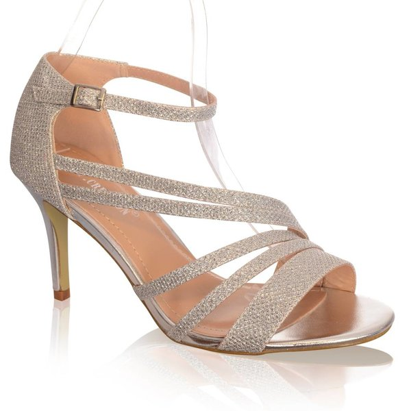 Elagante sandalettes -Zilver