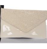 Party Envelope clutch - Ivoor