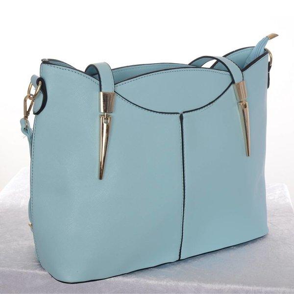 Dames handtas licht blauw