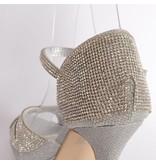 Stijlvolle sandaletten - Zilver