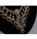 Bruids ketting + oorbellen - Goud