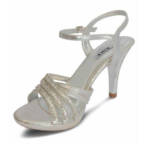 Bruids sandaletten - strass