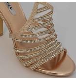 Gala sandalen - Goud