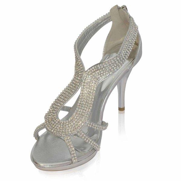 Glamour sandaletten Gracia - Zilver