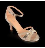 Gala sandalen Zilver