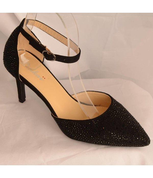 Glamour pump Zwart