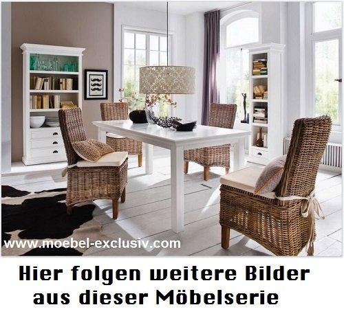 Landhausstil Moebel weiß Halifax Kommode B181 - www.moebel-exclusiv.eu