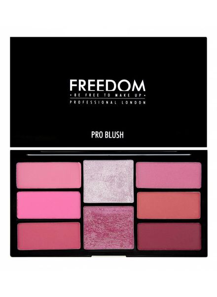 Freedom Makeup London Freedom Pro Blush Palette Pink and Baked