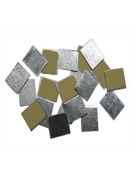 Z Palette - 15130151 Z Palette 30 Vierkante metalen stickers