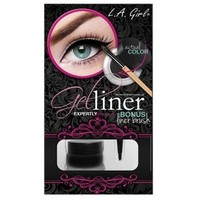 LA Girl Gel Liner Kit Jet Black