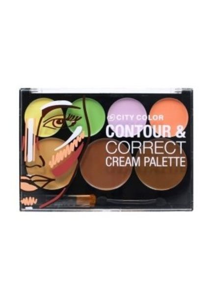 City Color City Color Contour & Correct Cream Palette