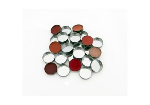 Z Palette - 15130151 Mini Round Metal Pans 10 Pack