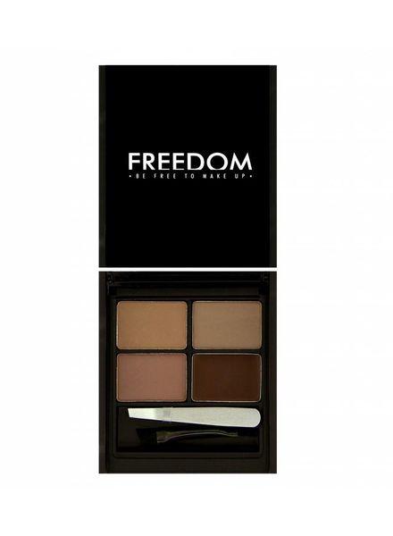 Freedom Makeup London Freedom Pro Eyebrow Kit Medium-Dark