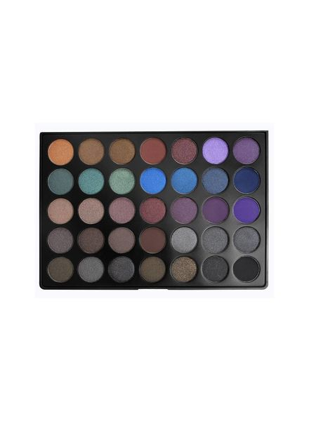 Morphe Brushes Morphe 35D 35 Color Dark Smoky Palette