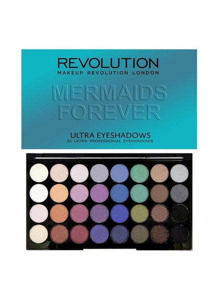 Makeup Revolution Makeup Revolution Ultra 32 Eyeshadow Palette Mermaids Forever