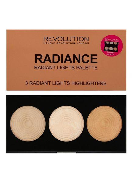 Makeup Revolution Makeup Revolution Highlighter Palette Radiance