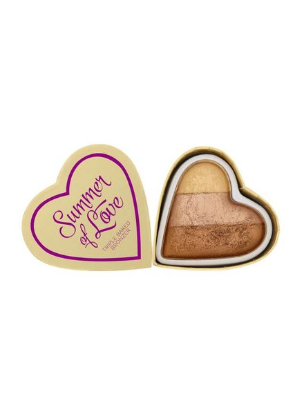 I Heart Makeup Blushing Hearts Bronzer Hot Summer of Love