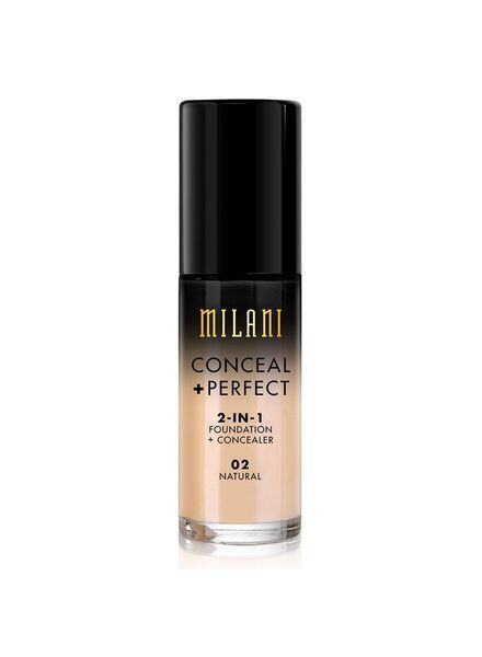 Milani Milani Conceal & Perfect 2-in-1 Foundation and Concealer Natural