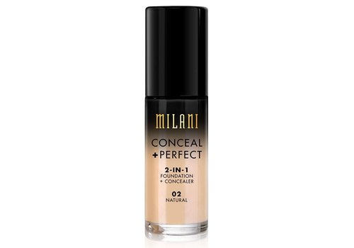 Milani 2-in-1 Foundation and Concealer 02 Natural