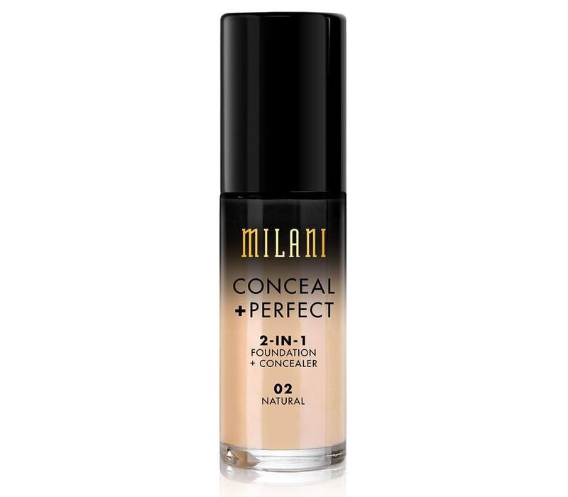 Milani Conceal & Perfect 2-in-1 Foundation and Concealer Natural